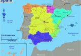 Map Of Autonomous Regions Of Spain Dividing Spain Into 5 Regions A Spanish Life Spain