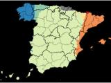 Map Of Autonomous Regions Of Spain Languages Of Spain Wikipedia