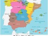 Map Of Autonomous Regions Of Spain Spain Political and Administrative Divisions Map Spain