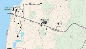 Map Of Baldwin Michigan Zetterberg Preserve at Point Betsie