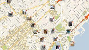 Map Of Barcelona In Spain Barcelona Printable tourist Map Barcelona In 2019 Barcelona