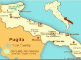 Map Of Bari Italy Hak Van De Laars Puglia
