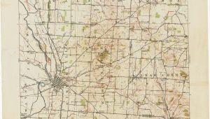 Map Of Bellevue Ohio Ross County Ohio Map Secretmuseum