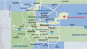 Map Of Bennett Colorado Communities Metro Denver