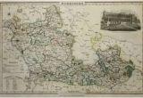 Map Of Berkshire England Antique Maps Uk England Berkshire Map by James Pigot
