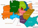 Map Of Bexar County Texas San Antonio School Districts Gopublic