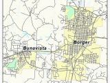 Map Of Borger Texas 2019 Page 44 Pergoladach Co