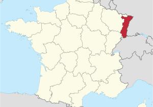 Map Of Bretagne Region France Elsass Wikipedia