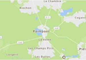 Map Of Bretagne Region France Paimpont Frankreich tourismus In Paimpont Tripadvisor