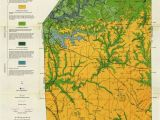 Map Of Brush Colorado Generalized Geologic Map Of butler County and Locations Of Selected