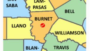Map Of Burnet Texas Burnet County Texas Genealogy Genealogy Familysearch Wiki