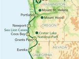 Map Of California and oregon Coast Map oregon Pacific Coast oregon and the Pacific Coast From Seattle