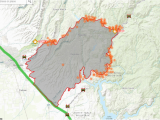 Map Of California forest Fires Camp Fire Interactive Map Krcr