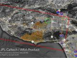 Map Of California forest Fires Woolsey Fire and the Santa Susana Field Laboratory Safecast