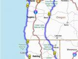 Map Of California oregon and Washington Map Of oregon and California Lovely Prospect oregon Map Maps