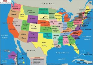 Map Of California with Major Cities United States Map with ...