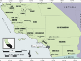 Map Of Camp Pendleton California southern California Regional Map Showing the Location Of San Diego