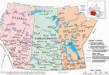 Map Of Camrose Alberta Canada Prairie Provinces A Political Map Of the Prairie Provinces Showing