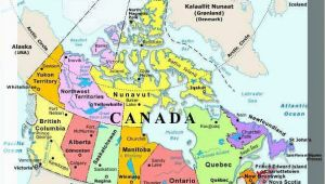 Map Of Canada and Alaska Border Plan Your Trip with these 20 Maps Of Canada
