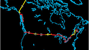 Map Of Canada and Us Border Canada United States Border Wikipedia
