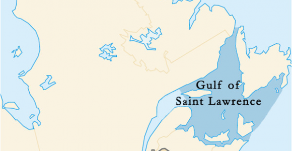 Map Of Canada Gulf Of St Lawrence Gulf Of Saint Lawrence Wikipedia