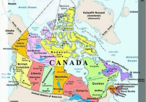 Map Of Canada In French with Capitals Plan Your Trip with these 20 Maps Of Canada