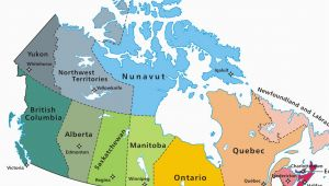 Map Of Canada In French with Provinces and Capitals Canadian Provinces and the Confederation