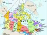 Map Of Canada Provinces and Capitals for Kids Map Of Canada with Capital Cities and Bodies Of Water thats Easy to