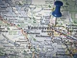 Map Of Canada Showing Vancouver Vancouver Canada Location Map