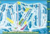 Map Of Canada Ski Resorts 2019 area Map Canyon Ski Resort