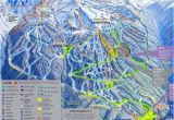 Map Of Canada Ski Resorts Blackcomb Mountain Skiing Whistler British Columbia