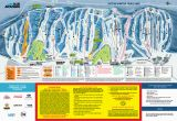Map Of Canada Ski Resorts Blue Mountain Trail Map Onthesnow