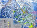 Map Of Canada Whistler Blackcomb Mountain Skiing Whistler British Columbia Canada