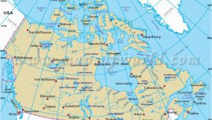 Map Of Canada with Longitude and Latitude Lines Map Of Canada with Latitude and Longitude Download them and Print