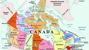 Map Of Canada with Provinces and Cities Maps Of Canada Maps Of Canadian Provinces and Territories