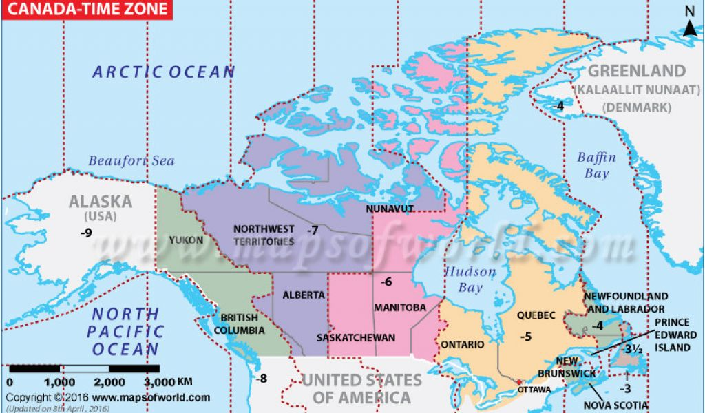 Map Of Canada with Time Zones 68 Complete Time Zone Map Us ...