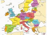 Map Of Capitals In Europe 36 Abundant Map Of Eu with Country Names