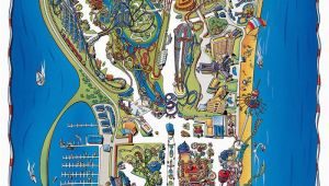 Map Of Cedar Point Sandusky Ohio Can T Wait Park Map Of Cedar Point Cedar Point Cedar Point
