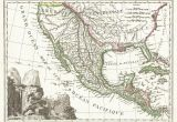 Map Of Center Texas File 1810 Tardieu Map Of Mexico Texas and California Geographicus