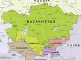 Map Of Central asia and Europe Central asia and Afghanistan