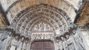 Map Of Chartres France File Chartres south Porch Left Bay Tympan Jpg Wikimedia Commons