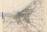 Map Of Cleveland Ohio and Surrounding area Ohio Historical topographic Maps Perry Castaa Eda Map Collection