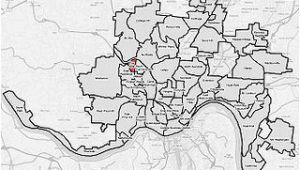 Map Of Clifton Ohio Villages at Roll Hill Cincinnati Wikipedia
