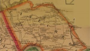 Map Of Clinton township Michigan Clinton County Warrantee Map
