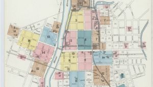 Map Of Clyde Ohio Map Ohio Library Of Congress