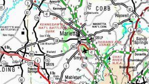 Map Of Cobb County Georgia County Of Cobb Georgiainfo