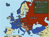 Map Of Cold War Europe Anthony Brock Ambrock02 On Pinterest