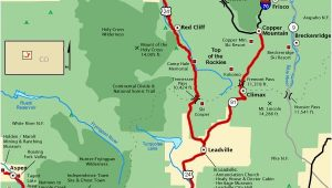 Map Of Colorado Breckenridge top Of the Rockies Map America S byways Go West Pinterest