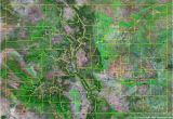 Map Of Colorado Counties and Cities Colorado County Map