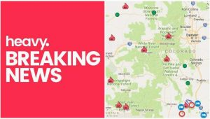 Map Of Colorado Fires Colorado Fire Maps Fires Near Me Right now July 10 Heavy Com